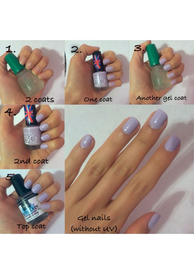 how to fix my gel nails at home photo - 2