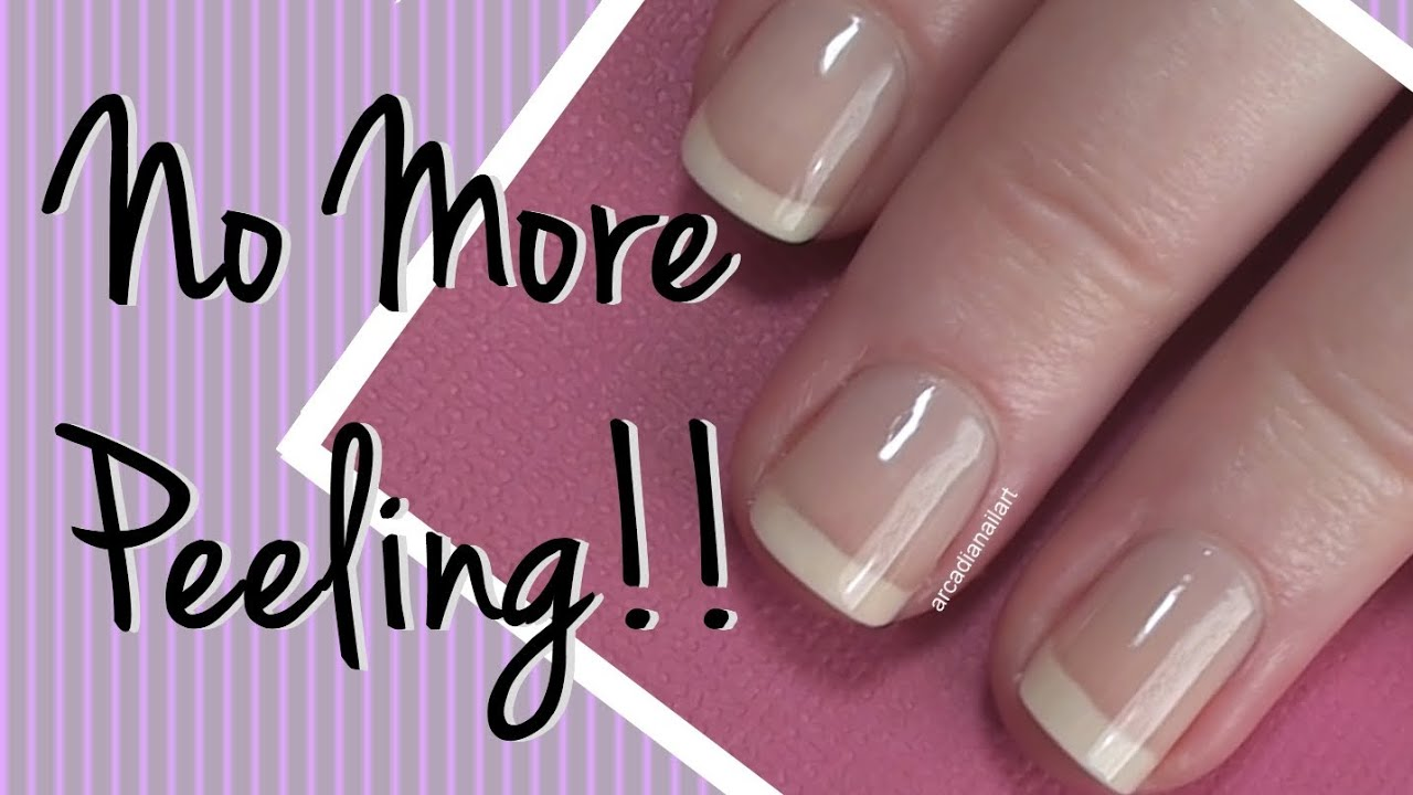 how to fix peeling gel nails photo - 1