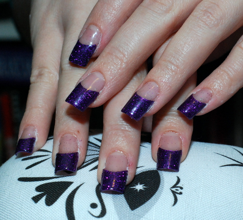 how to gel nails with tips photo - 2