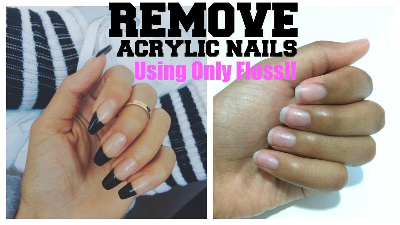 How to get acrylic nails off at home - Expression Nails