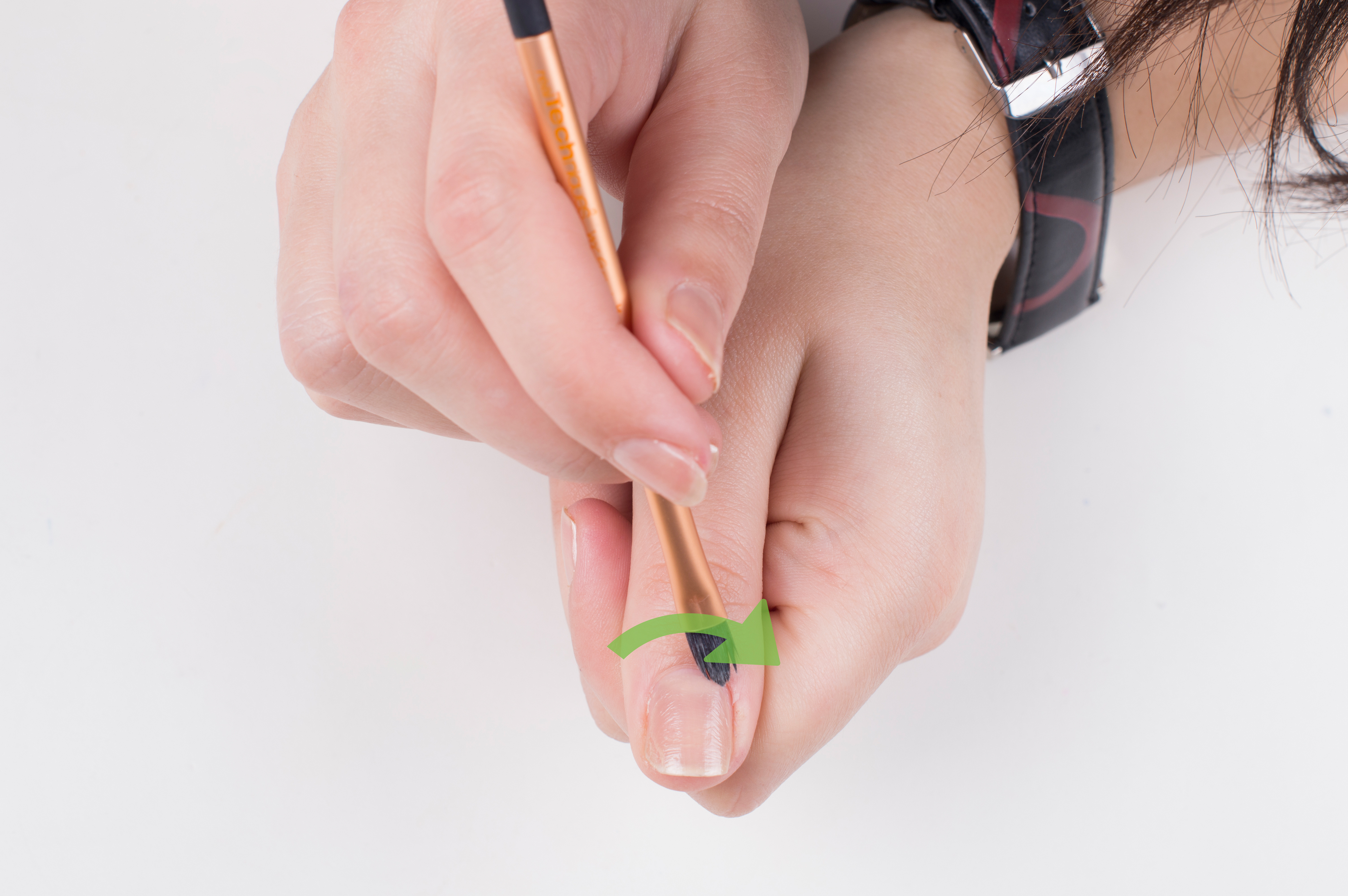 how to get acrylic nails off real nails photo - 2