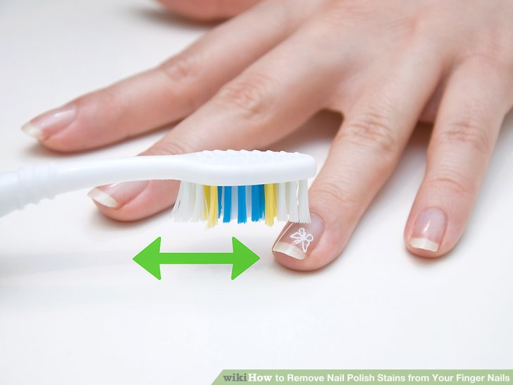 how to get curry stain off gel nails photo - 1