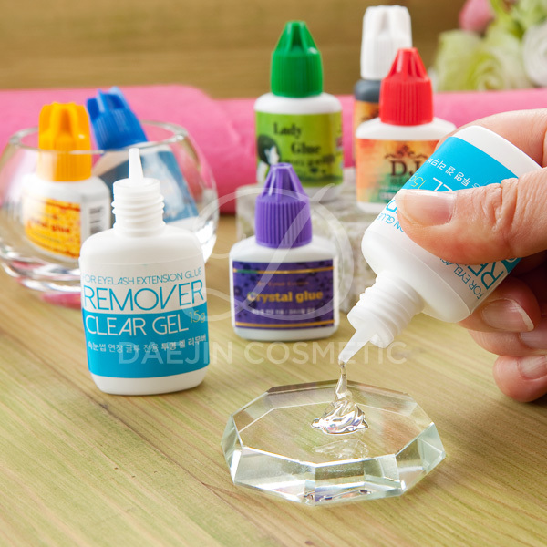 how to get eye lash glue off your gel nails photo - 1