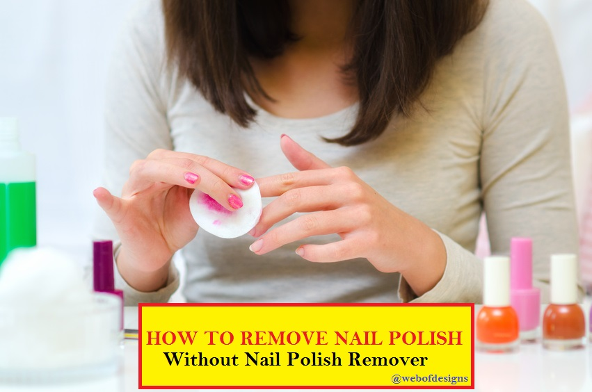how to get rid of gel nails without acetone photo - 2