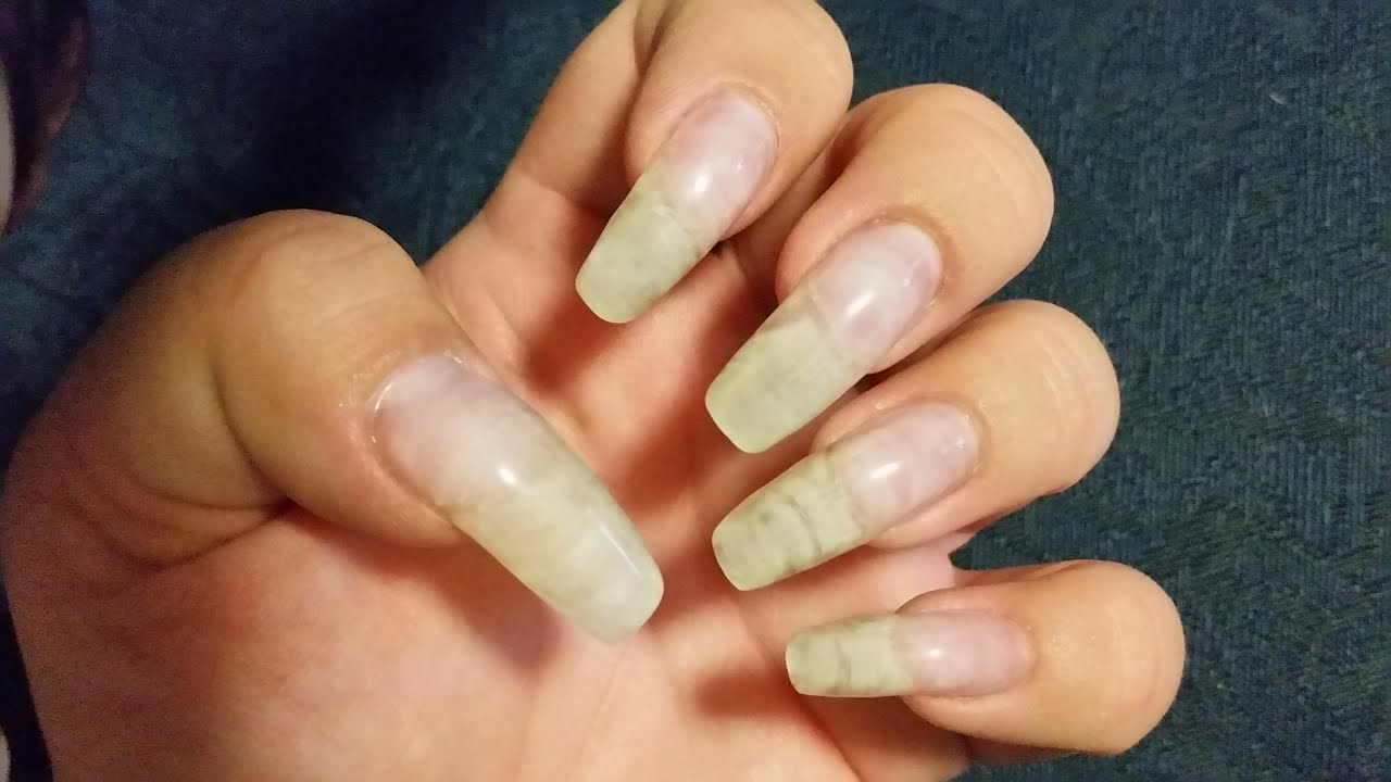 how to go from gel nails to natural photo - 2
