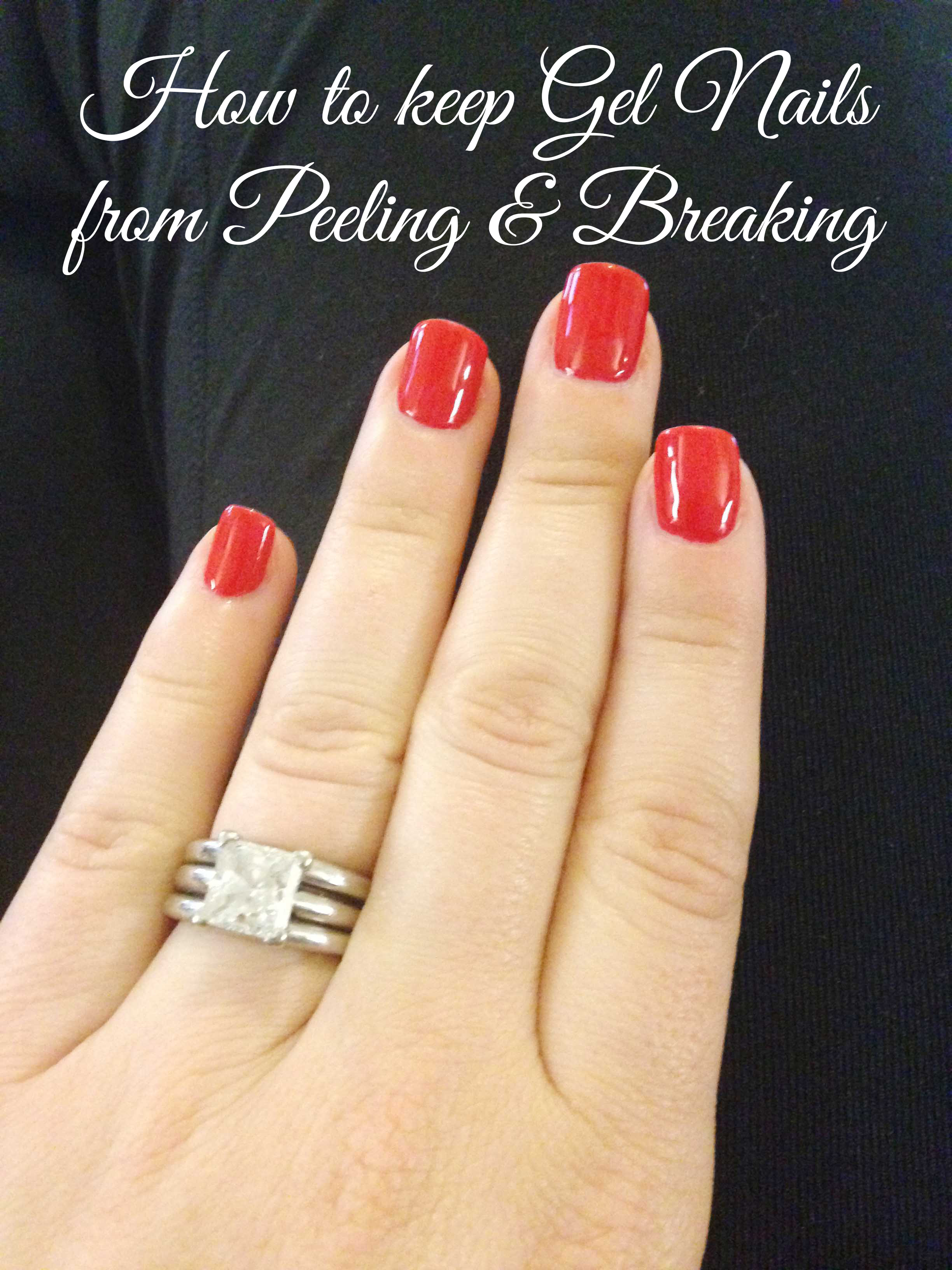 how to keep nails from breaking after gel nails photo - 1