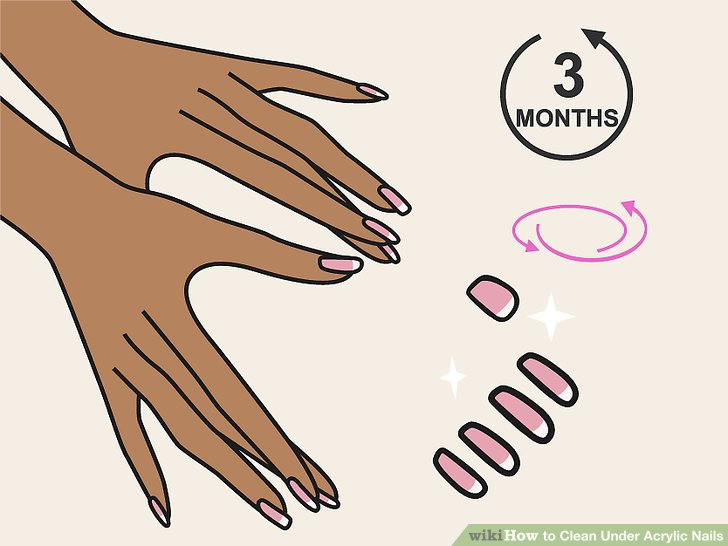 How to loosen acrylic nails - Expression Nails