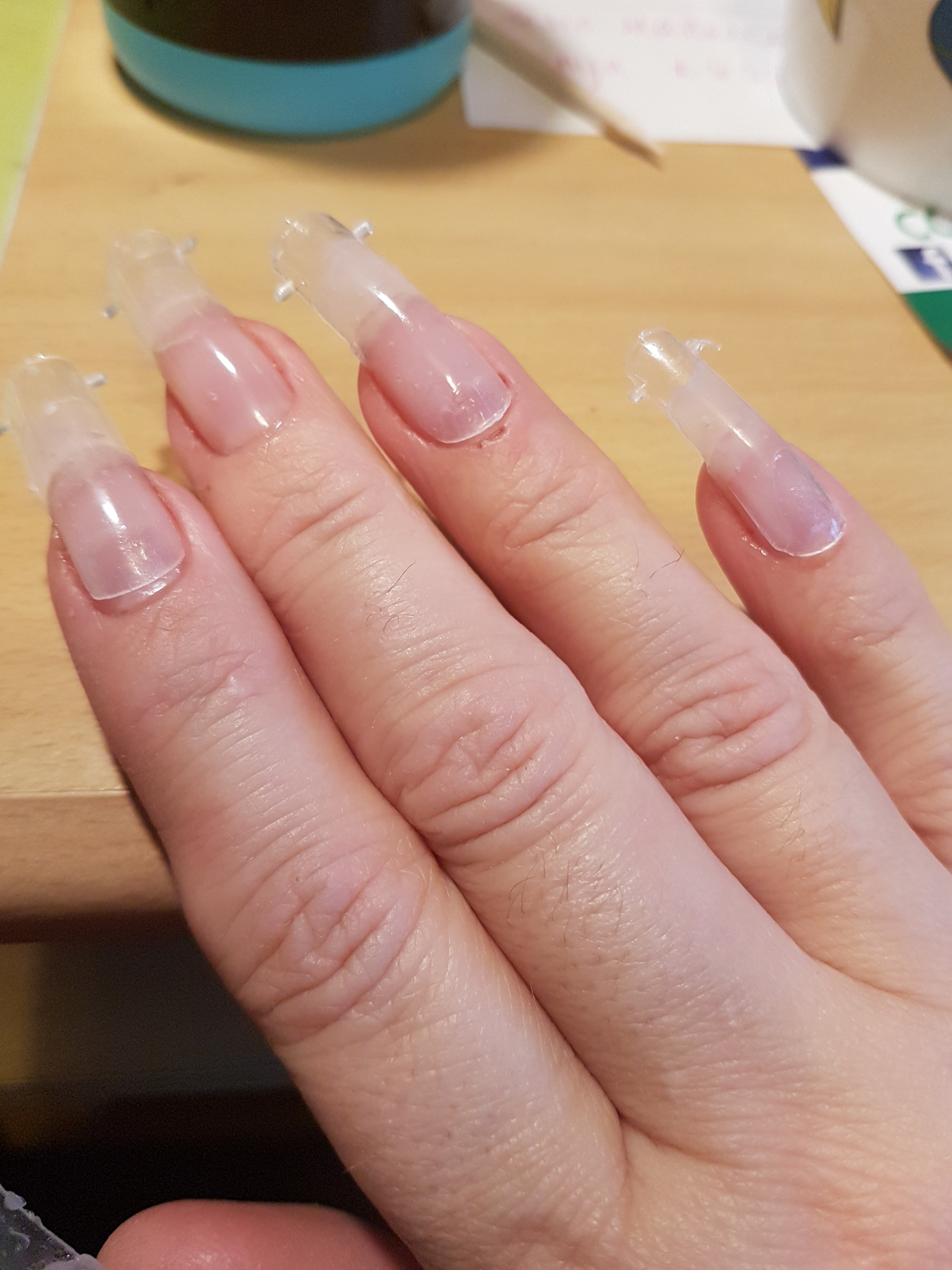 how to make gum gel for nails photo - 2