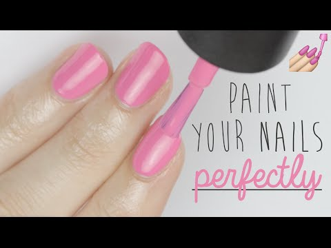 how to perfectly paint nails with gel polish photo - 2