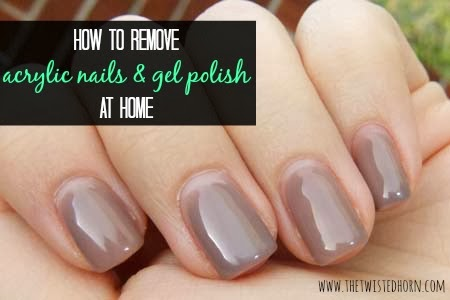 how to remove acrylic nails with gel polish photo - 1