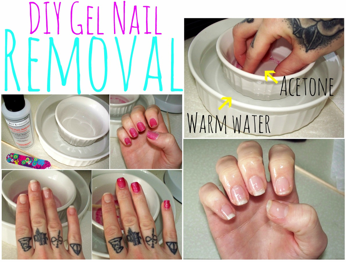 How to remove acrylic nails with gel polish - Expression Nails