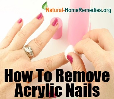 how to remove fake acrylic nails yourself photo - 2