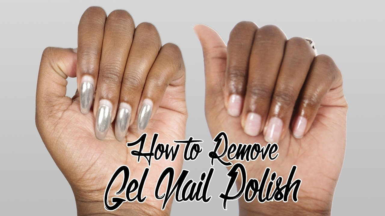 how to remove gel nails polish at home photo - 2