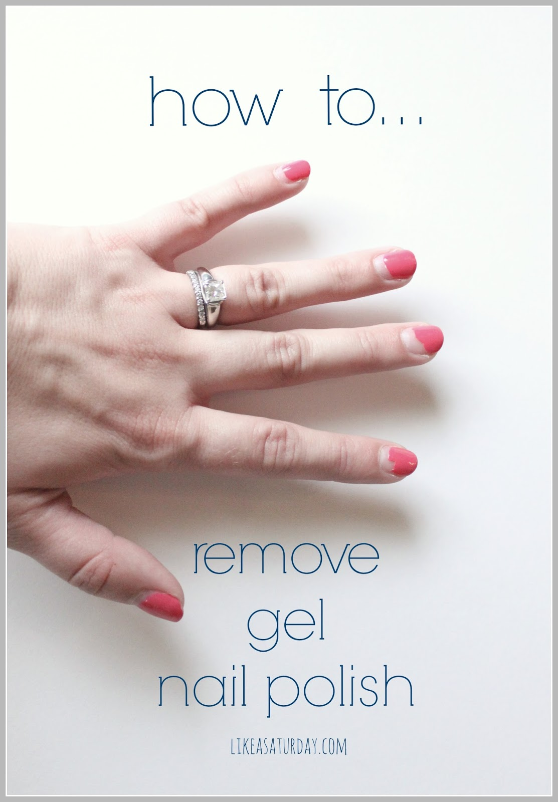 how to remove gel polish from gel nails photo - 2