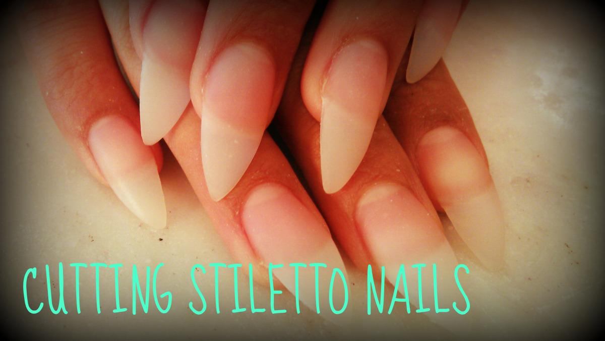 how to shape stiletto nails photo - 2