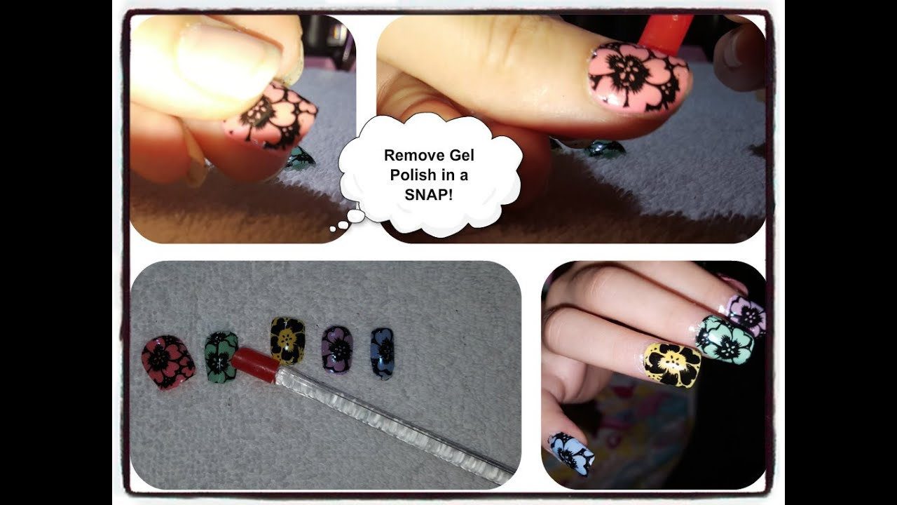 how to soak off gel nails without acetone photo - 2