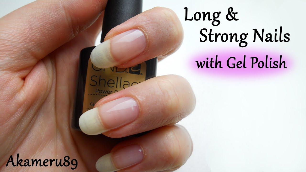 Gel Nail Polish To Harden Nails