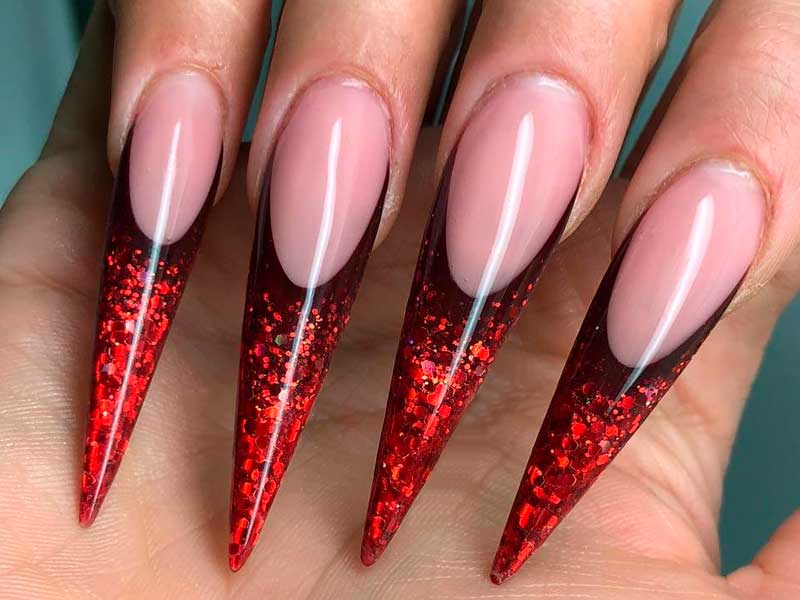 how to take off acrylic nails at home photo - 1