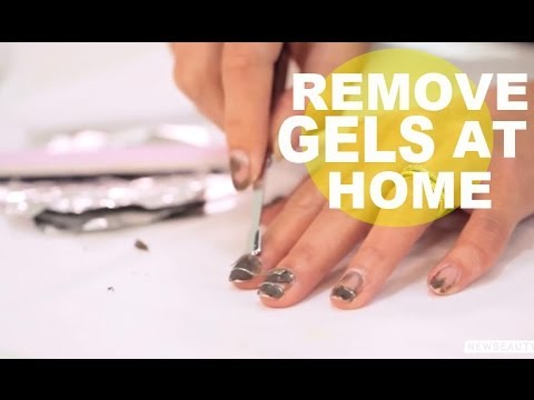 how to take off gel nails photo - 2