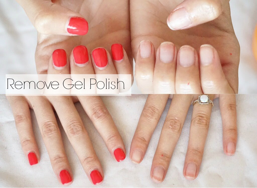 how to take off gel nails at home fast photo - 1