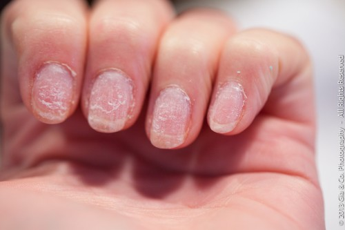 how to thin acrylic gel nails without damaging photo - 2