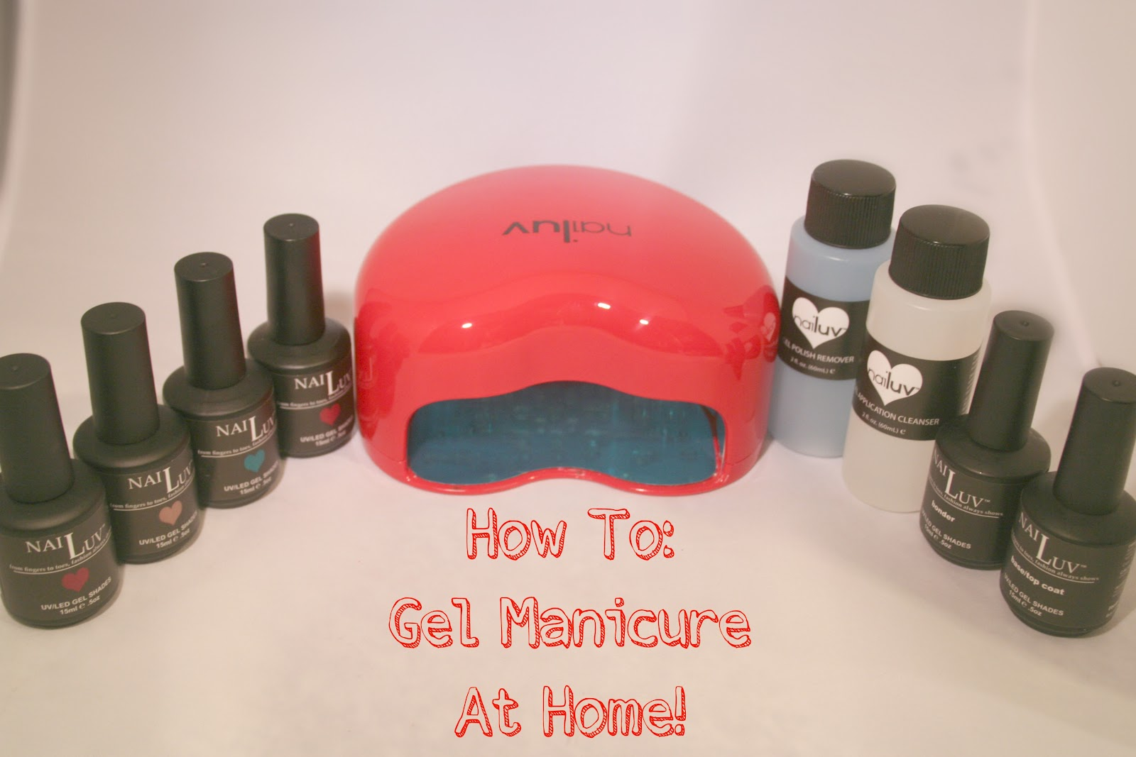 how to to gel nails at home photo - 2