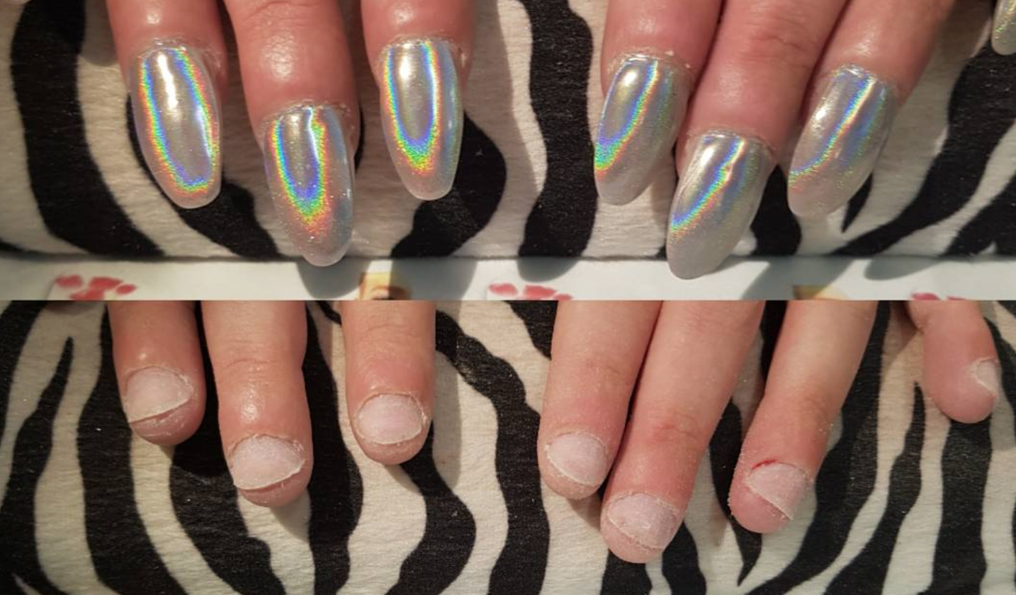 is acrylic nails bad for your health photo - 1
