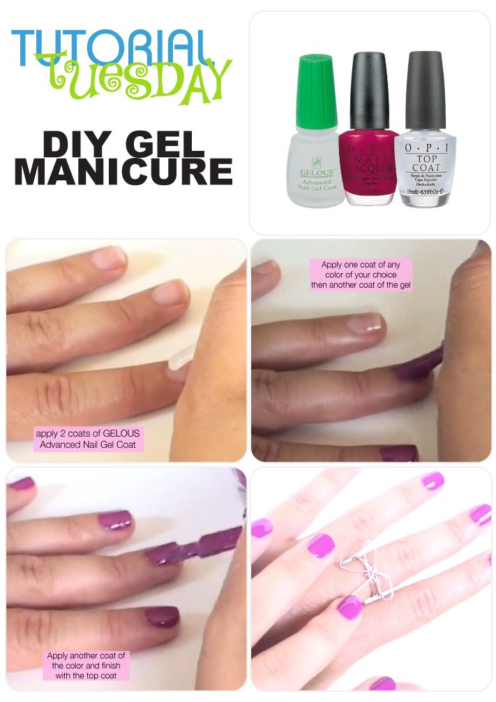 is it easy to do gel nails at home photo - 1