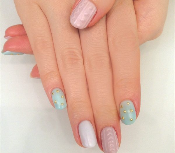 japanese gel nails photo - 1