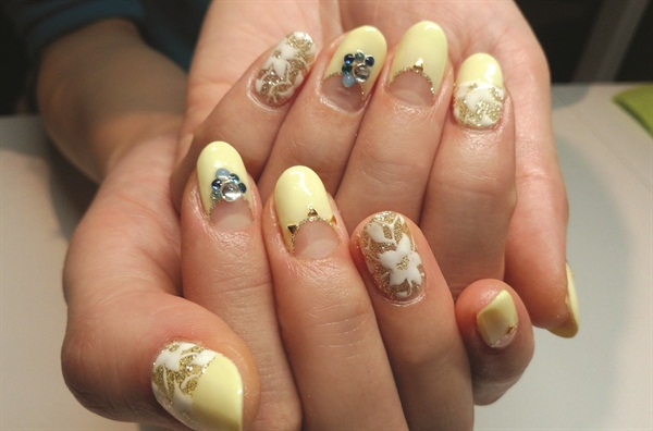 japanese gel nails college park photo - 2