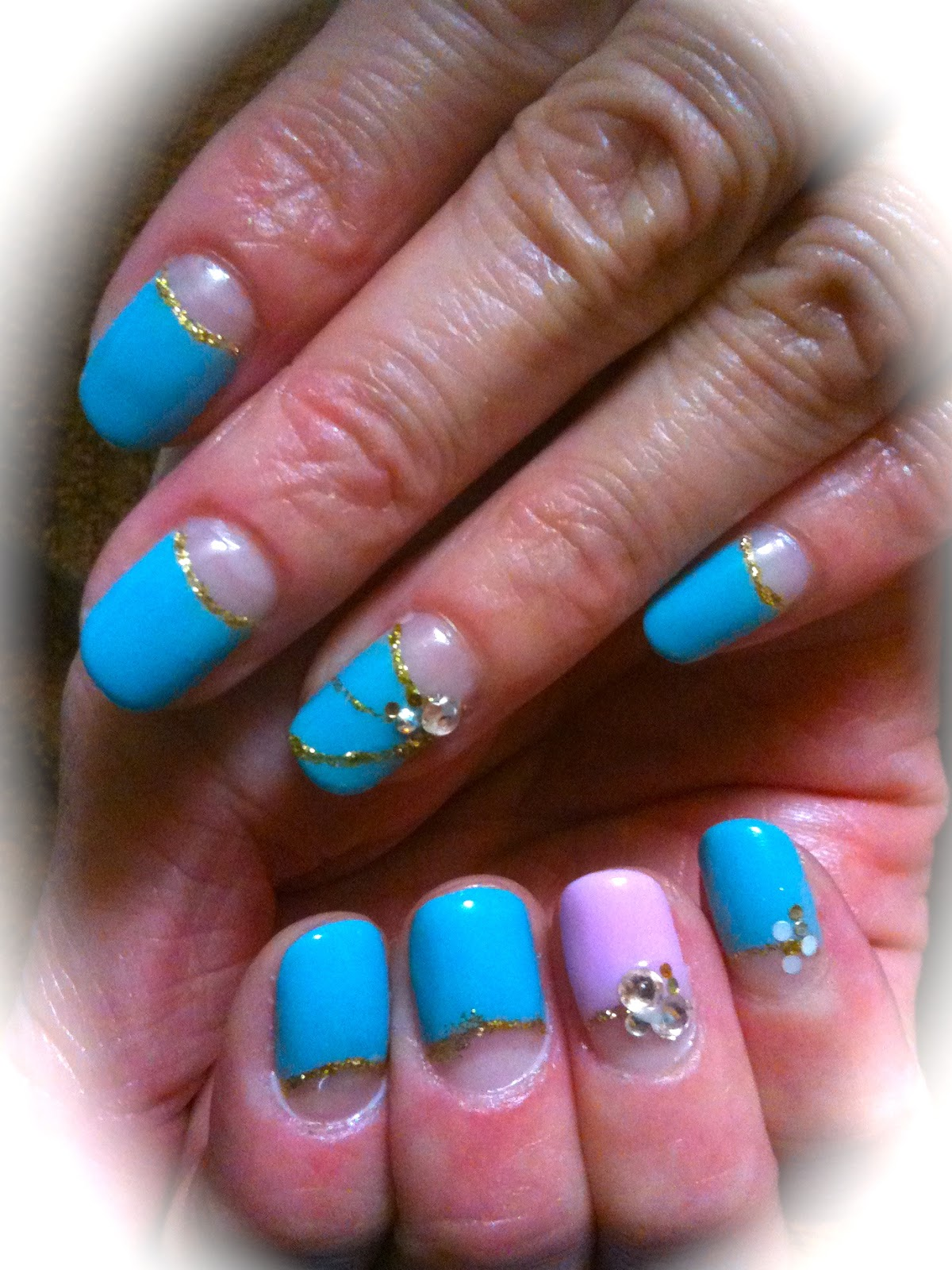 japenese gel nails photo - 1