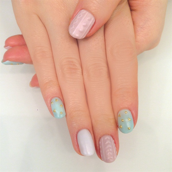 japenese gel nails photo - 2