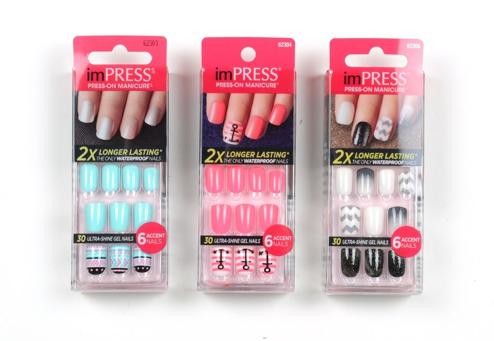 Kiss gel press on nails - Expression Nails