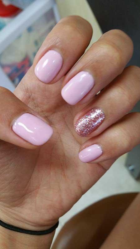 light color gel nails photo - 1