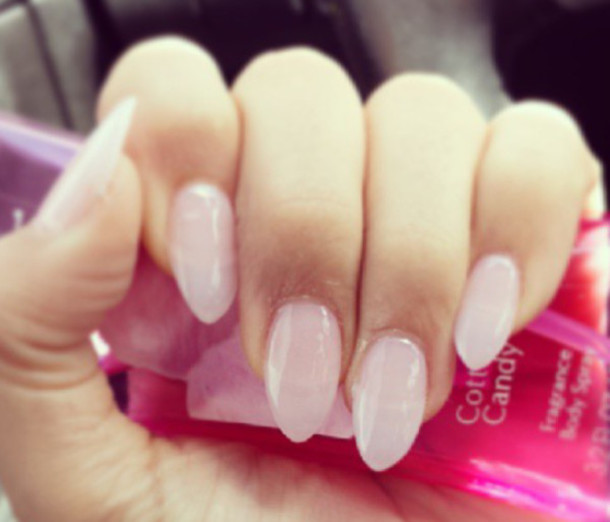 Light pink gel nails - Expression Nails