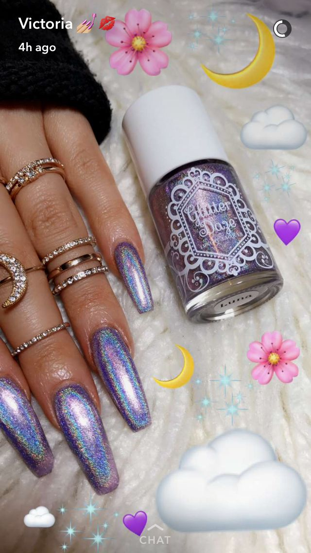 Matte acrylic nails - Expression Nails