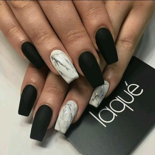 Matte coffin nails tumblr - Expression Nails