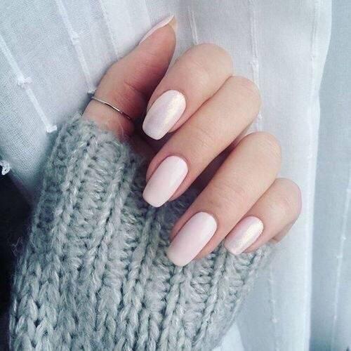 medium length acrylic nails fall colors photo - 2