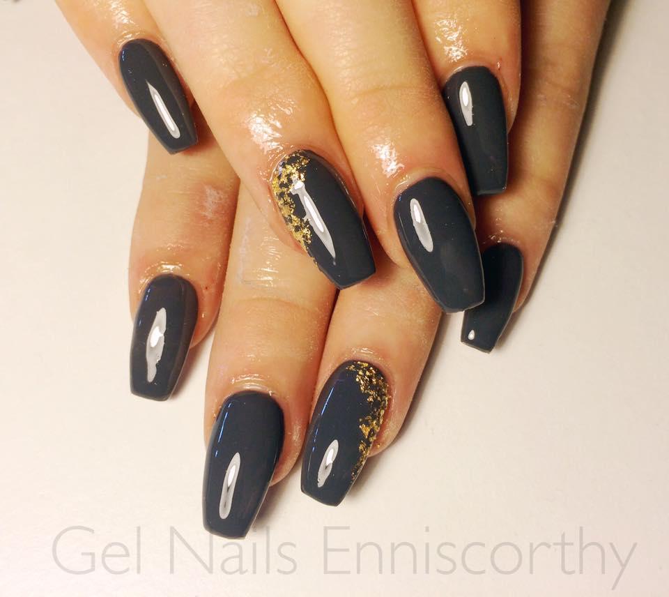 metal coffin nails photo - 2