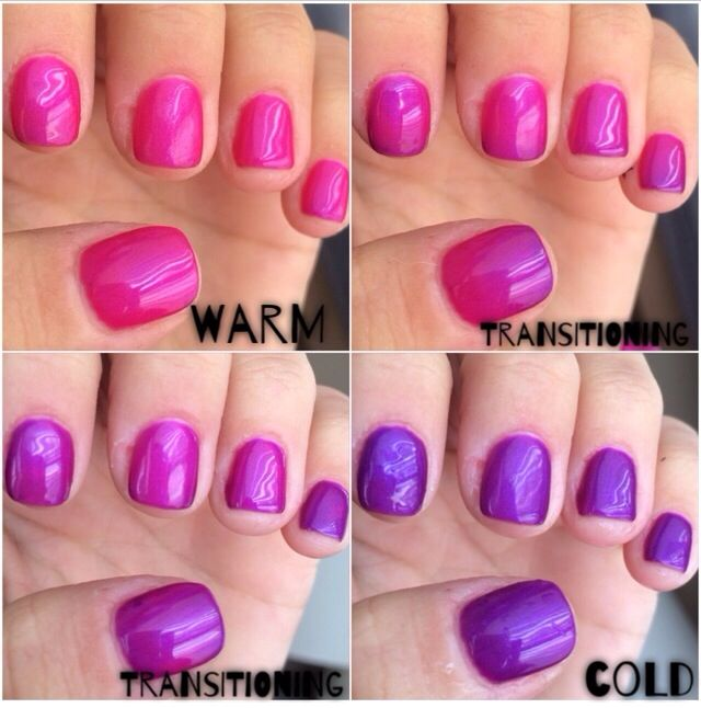 mood changing gel nails photo - 1
