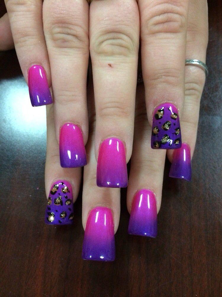 mood changing gel nails photo - 2