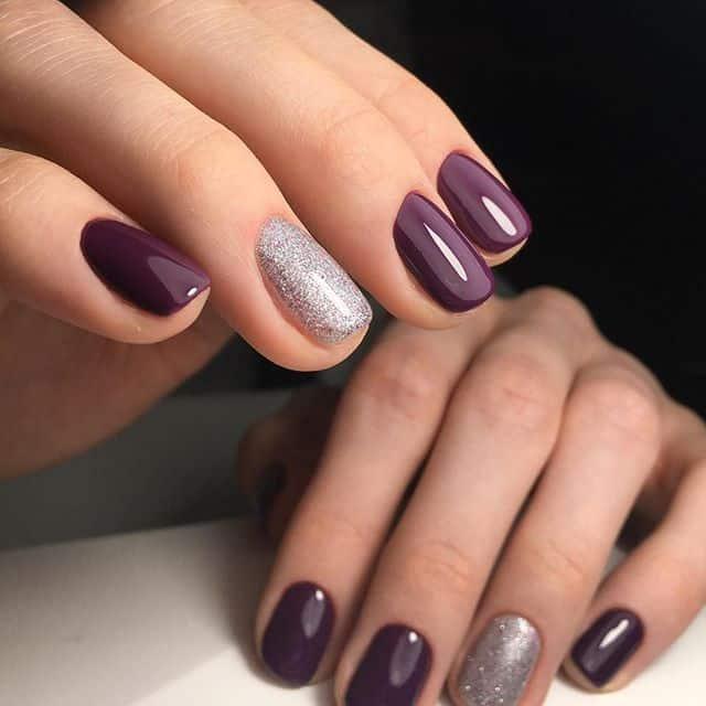 nail colors fall 2019 shellac coffin nails photo - 2