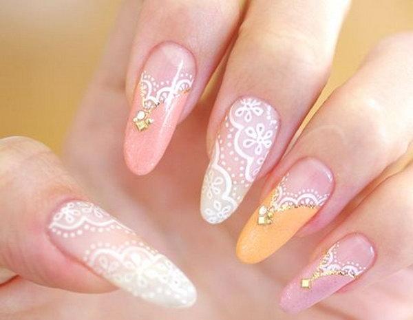 nail designs acrylic nails photo - 2
