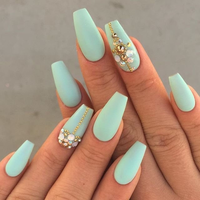 Nail designs for coffin nails - Expression Nails