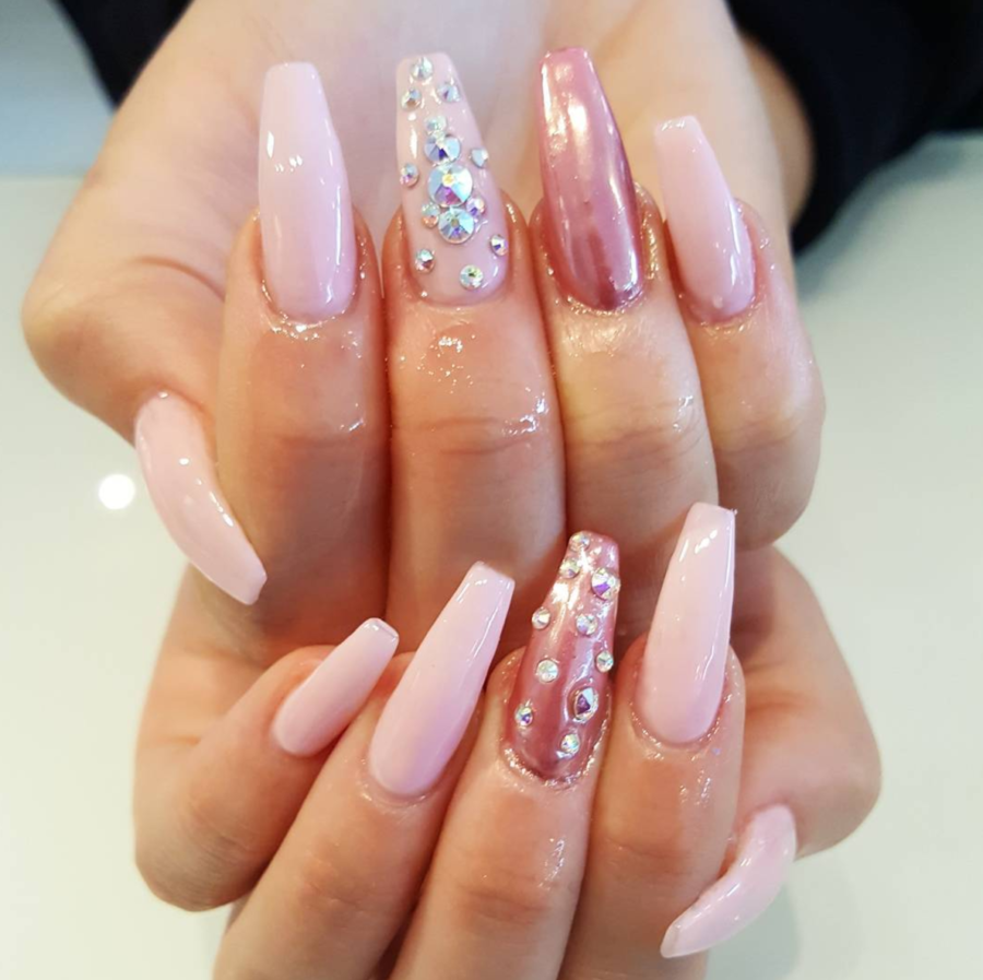 nail salons that do coffin nails near me photo - 2