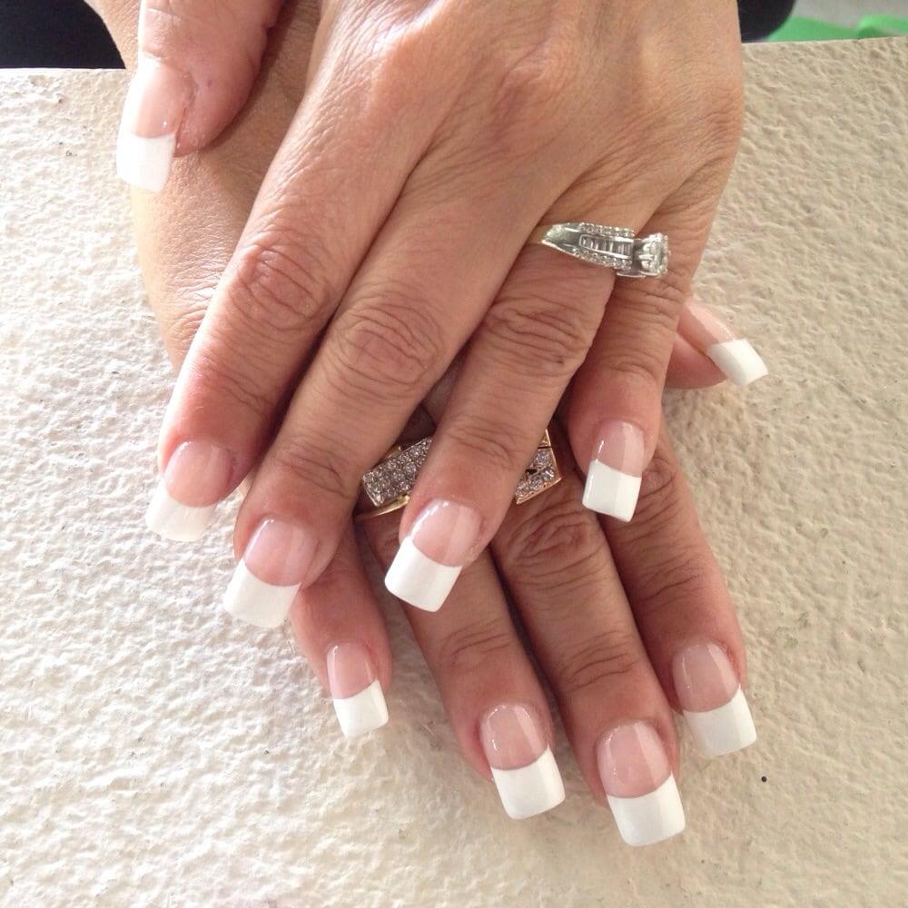 nail salons who do liquid gel nails photo - 1