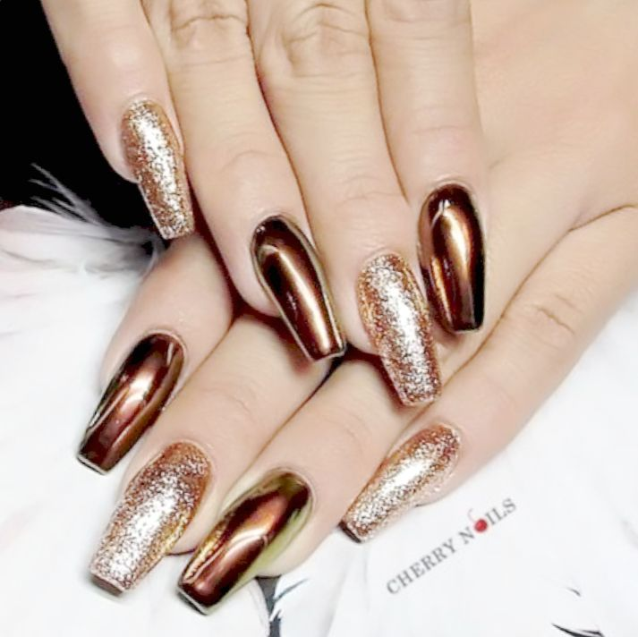 nails 2019 coffin photo - 2