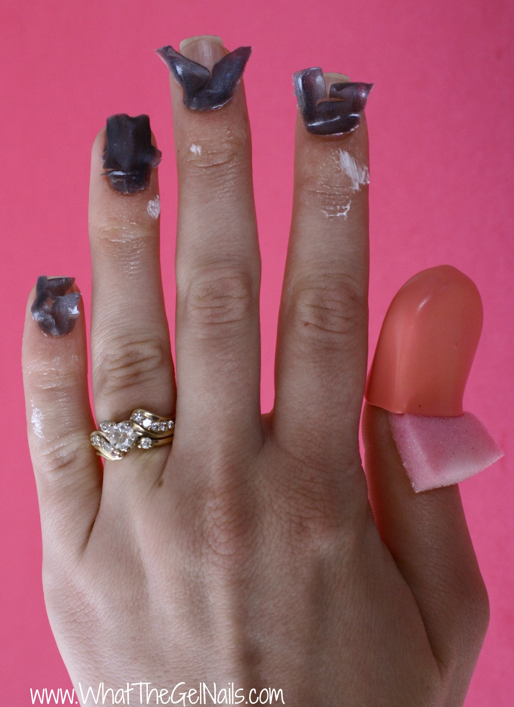 nails after gel photo - 2