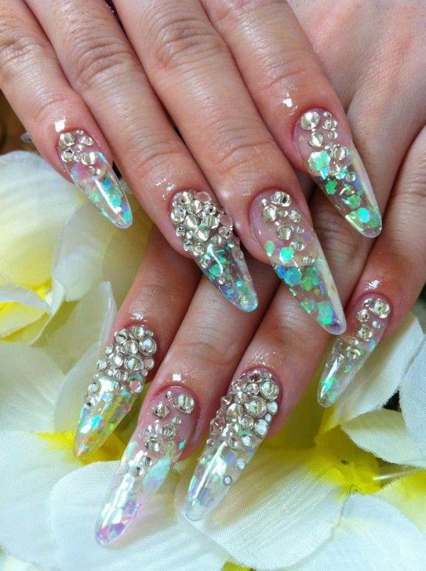 Natural Acrylic Nails Designs Photo