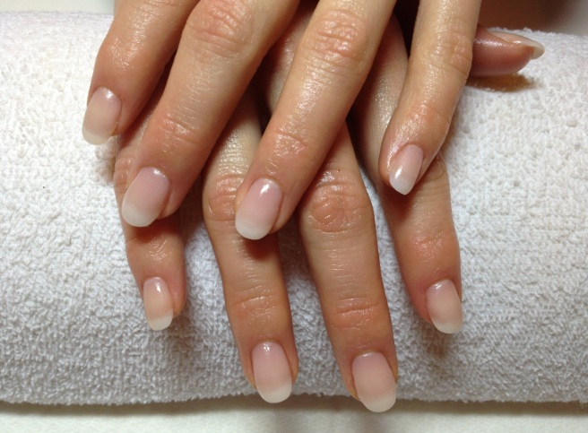 natural looking acrylic nails pictures photo - 1